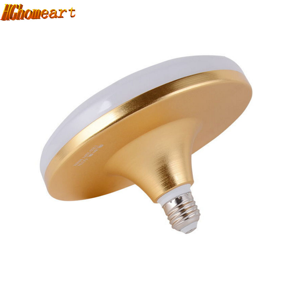 HGHomeart  E27 LED Lamp Bulb High Power Waterproof UFO Home Energy-saving Light Lampada Factory Floor Lighting Lamp 110V-220V 4pcs led light bulb 4w smd 48led energy saving lights lamp bulb home kitchen under cabinet lighting pure warm white 110 240v