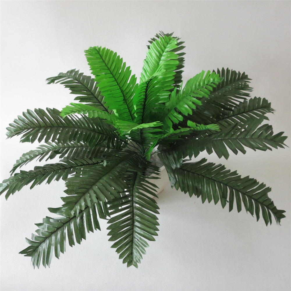 50cm 24 leaves artificial plants artificial tree home for Artificial leaves for decoration