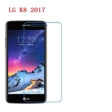 3-Pack) для LG K8 nano 9 H Супер Ударопрочный против падения царапины скраб 6 H Защитная пленка для экрана