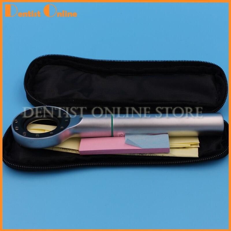 Dental Base Light Tri Spectra Shade Match Tooth Color Colorimetric Light