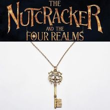 The Nutcracker And Four Realms Pendant Necklaces Keychain Bronze Cosplay Jewelry Lovely Christmas Halloween Gift