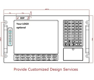 Image 3 - מתלה הר תעשייתי תחנת עבודה, 12.1 אינץ LCD, מסך מגע, P3 1.0GHz מעבד, 256MB זיכרון RAM, 160GB HDD, 4 2xpci, 4 xISA, Windows 98/XP OS