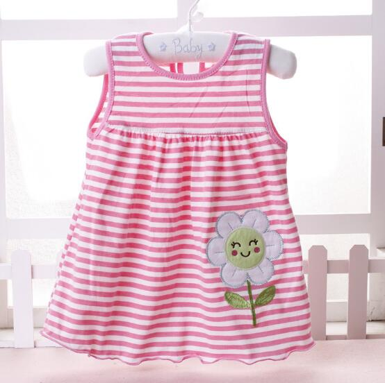 abf7ad99776a4 2017 New Summer Baby Girl Dress Princess 0 1 Year Birthday Infant Girl Dot Newborn  Dresses Baby Girls Cutton Clothes-in Dresses from Mother & Kids on ...