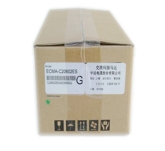 B2 Series AC Servo System Servo ECMA-C20602ES New Original dcs810 leadshine digital dc brush servo drive servo amplifier servo motor controller up to 80vdc 20a new original