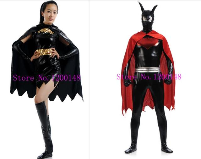 Adult Mens/Kid Black Batman Cosplay Costumes Men/Boy Superhero Costume Children High Quality  sc 1 st  AliExpress.com & Adult Mens/Kid Black Batman Cosplay Costumes Men/Boy Superhero ...