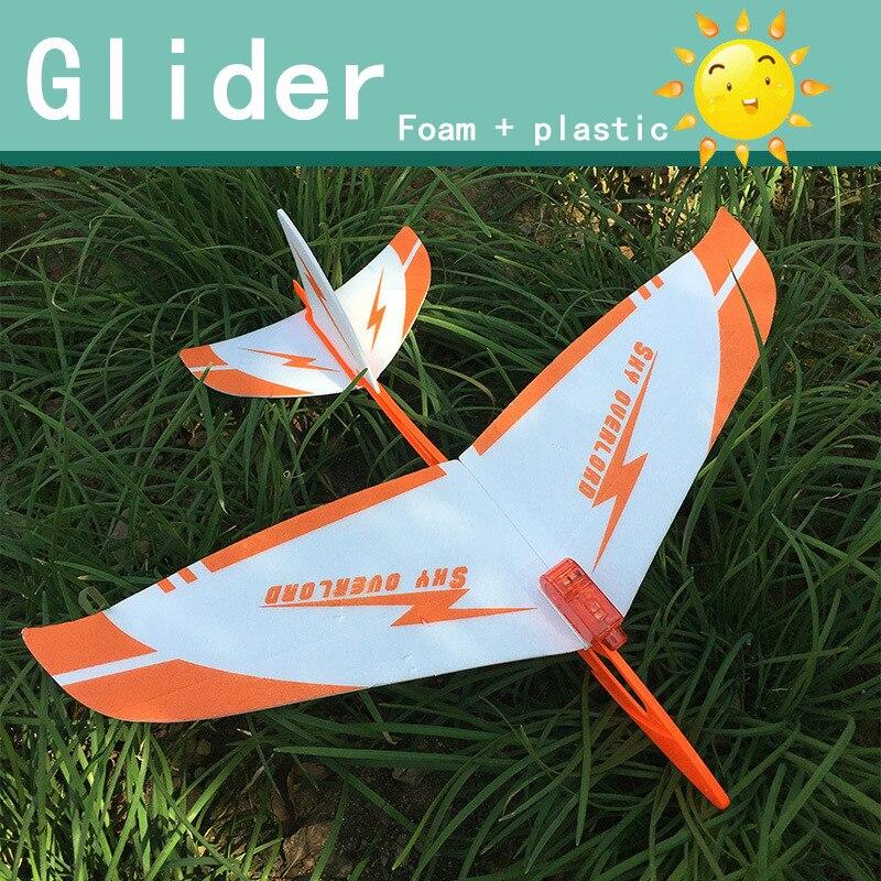 d01e65ff36 Mano de lanzamiento a planeador de aviones de juguete modelo de avión de  juguete al aire libre juguetes educativos 30 36 cm