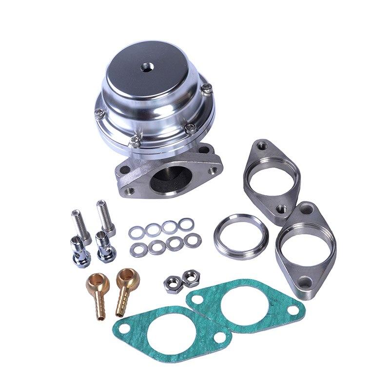 38mm Aluminum Steel Turbo External Waste Gate With Flange Hardware External Wastegate Kit For Supercharge Turbo