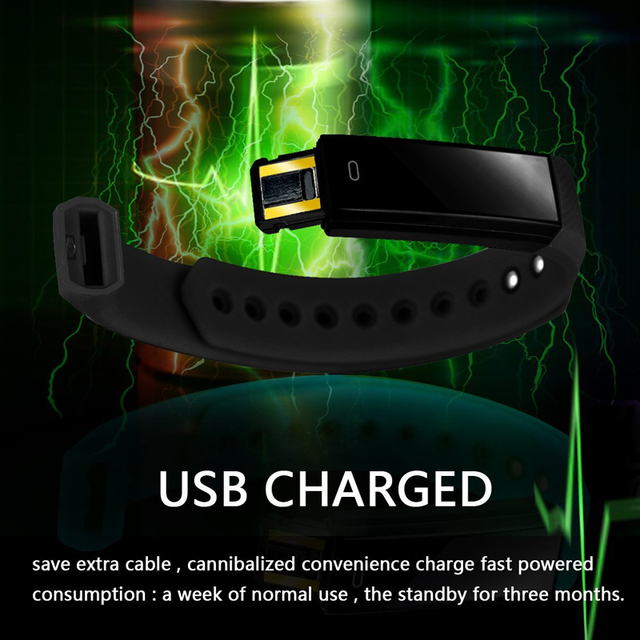 Smart Fitness Bracelets Sport Passometer Tracker Smart Bracelet Watch Alarm Clock Vibration Bluetooth Wristband for Android IOS
