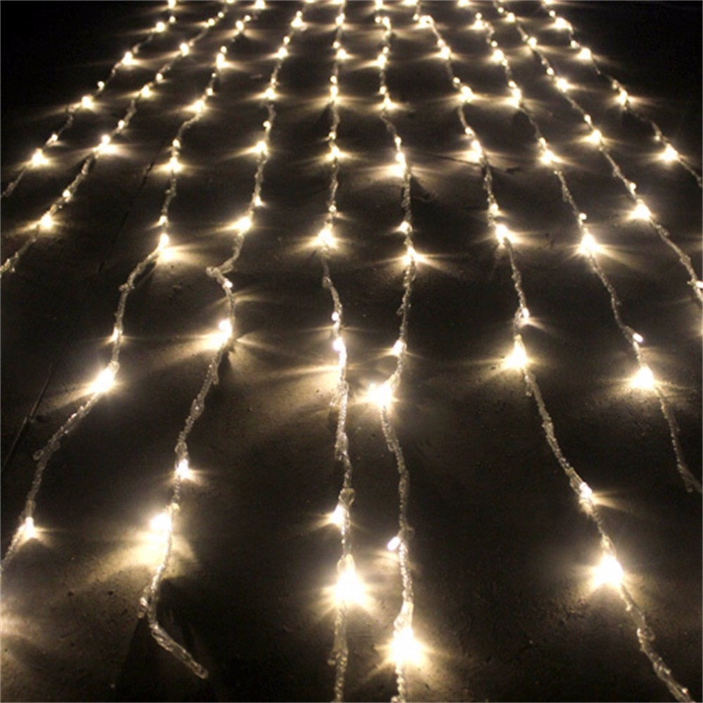 360 LED Lighting Strings Curtain Fairy Light Waterfall Indoor/Outdoor Wedding White/Warm White Super Deal! Inventory Clearance inventory accounting