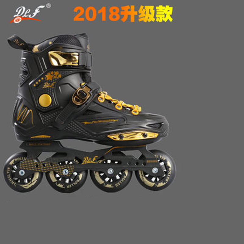 1 paire L'ensemble Patins Chaussures pour Glisser De Patinage FSK Inline Slalom Patins 80mm 76mm 72mm 243mm 231mm pour SEBA pour Powerslide Rouleau
