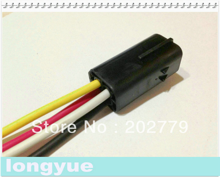 longyue 10sets 4 pin pigtail connector automotive wiring harness rh aliexpress com