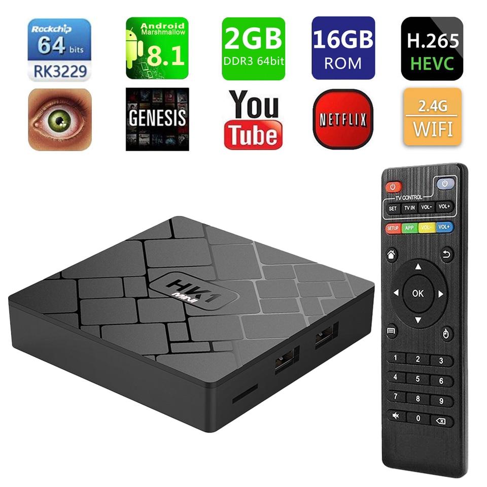 France IPTV 1 Year HK1 Mini Android 8.1 Box RK3229 2+16G IP TV 4K H.265 Decoder Arabic French QHDTV 1 Year Subscription Box  (9)