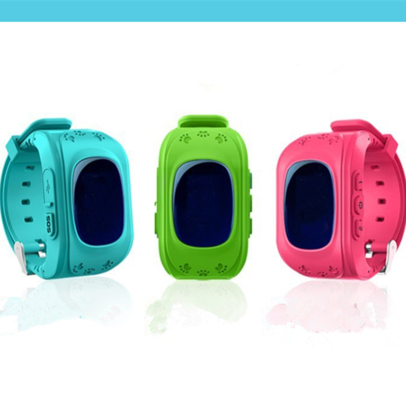 Q50 Q90 OLED Child GPS Tracker KGG Anti Lost SOS Smart Monitoring Positioning Phone Kids GPS Baby Watch Compatible IOS & Android-in Smart Watches from Consumer Electronics on AliExpress