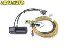 Für NEUE Audi Q5 80A 8W 8 827 566 E Rückansicht Kamera Stamm griff mit Anleitung Linie kabelbaum 8W8827566E