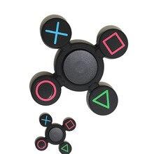OUHOEอยู่ไม่สุขนิ้วของเล่นTri-s Pinnerสำหรับเด็กผู้ใหญ่EDCมือความเครียดบรรเทาโฟกัส
