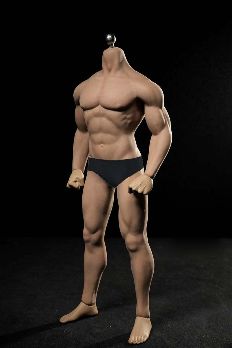 Super-Flexible Male Seamless Muscle Body with Steel Skeleton TBLeague Phicen M30 PL2015-M30 Action Figure Toy 1/6 Scale figureSuper-Flexible Male Seamless Muscle Body with Steel Skeleton TBLeague Phicen M30 PL2015-M30 Action Figure Toy 1/6 Scale figure