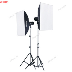 Studio Flash GE250w ID Photo Camera Set Clothing Studio Portrait Photography Light CD50 T03