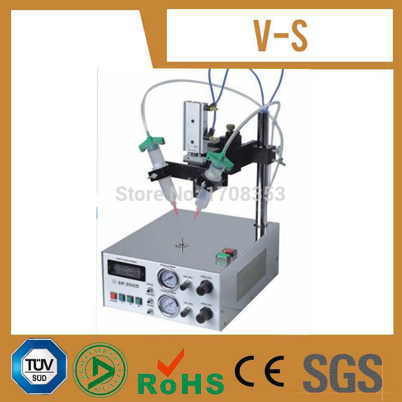 220V Auto Glue Dispenser Solder Paste Liquid Controller Dropper SP300 Dispensing Machine 220v auto glue dispenser solder paste liquid dropper ad 982 dispensing controller machine