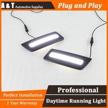 A&T car styling For Ford ranger LED DRL For ranger led fog lamps daytime running light High brightness guide LED DRL