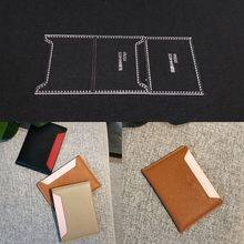 Laser-Cut-Template Leather-Tools Sewing-Pattern Acrylic Stencil Craft Handmade Diy 103x73mm