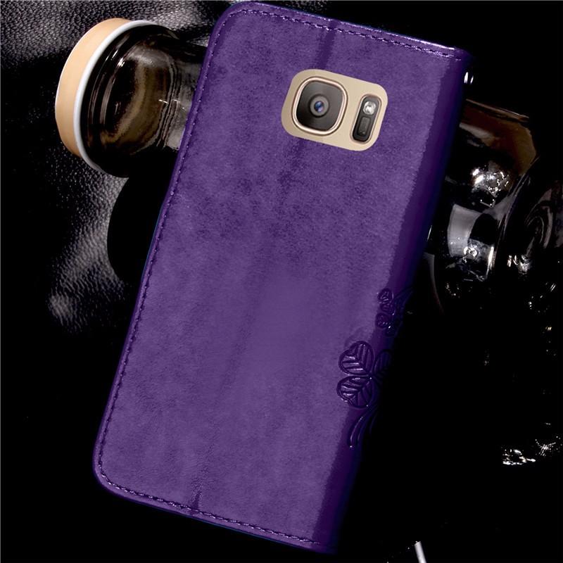 Dla iphone 7 plus 4S 5S 4 5 6 s skórzane etui z klapką case do samsung galaxy a3 a5 j3 j5 2016 j1 s6 s7 s3 s4 s5 mini grand prime pokrywa 56