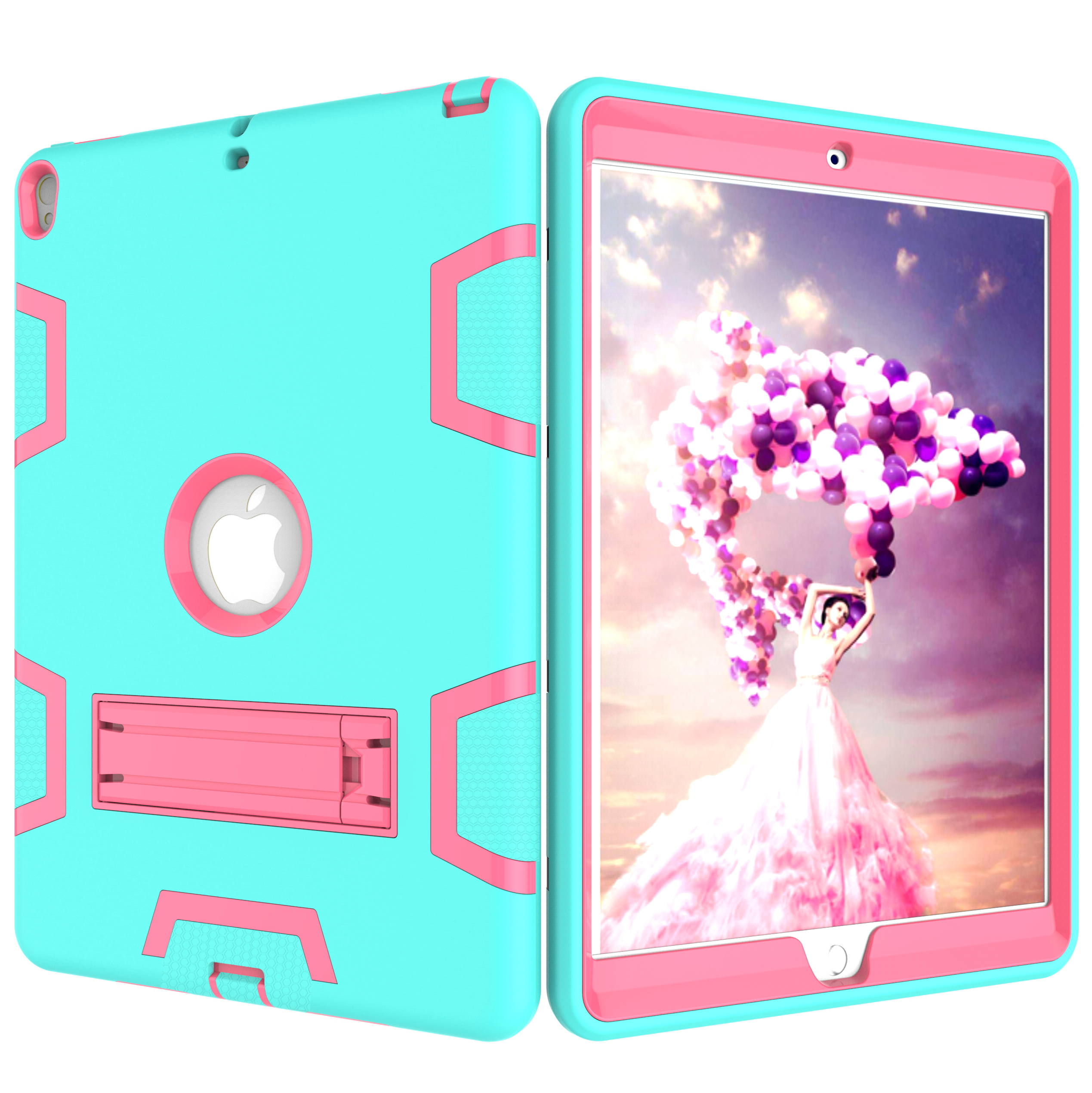 Conlez for iPad Air 3 10 5 Inch 2019 Heavy Duty Hybrid Shockproof Amor Case Back Cover Protective Case for iPad Pro 10 5 39 39 2017 in Tablets amp e Books Case from Computer amp Office