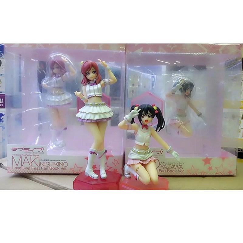 17cm NEW Hot LoveLive! School idol project Maki Nishikino Nico Yazawa Action Figure Love Live Anime Sexy Figures Toys L1054