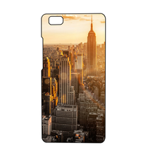 Cases with Beautiful Cities for Huawei