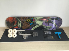 2016 Complete skateboard parts combination with best price and high quality skateboard