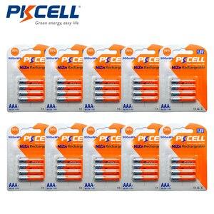 40 шт/10 карт PKCELL 1,6 V NiZn батарея AAA 900mWh высокая стойкость Ni-Zn AAA перезаряжаемые батареи