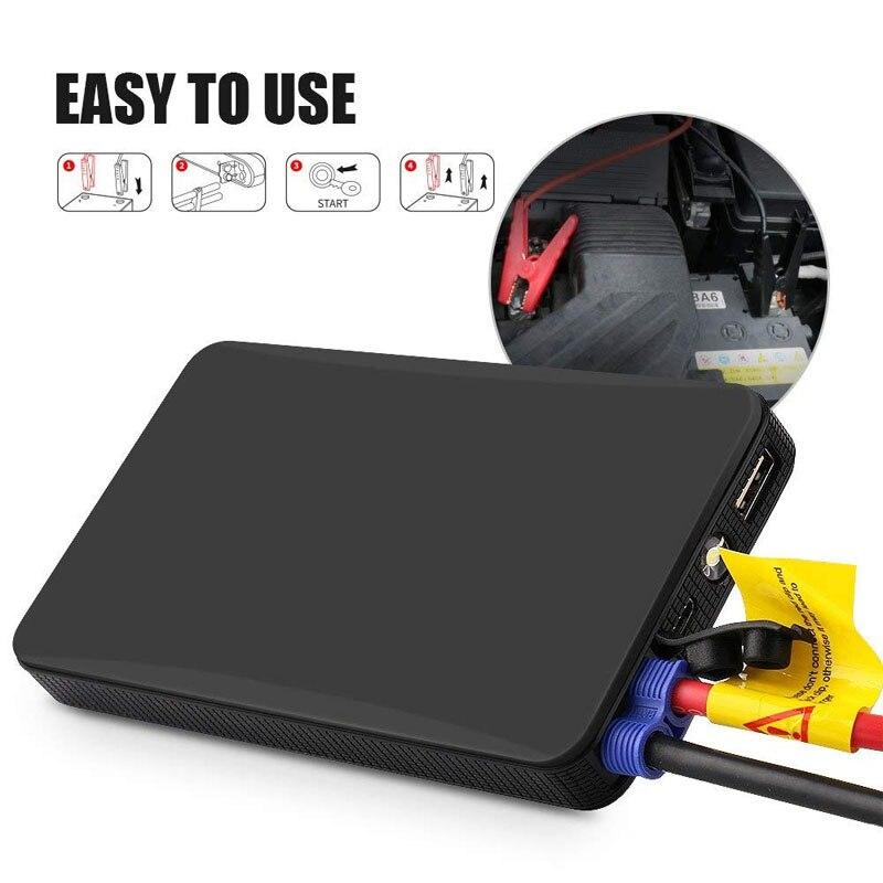 Портативный автомобильный мини аккумулятор K21, 12 В, пусковое устройство для запуска двигателя, внешний аккумулятор для запуска автомобиля объемом до 2 л|Пусковое устройство|   | АлиЭкспресс