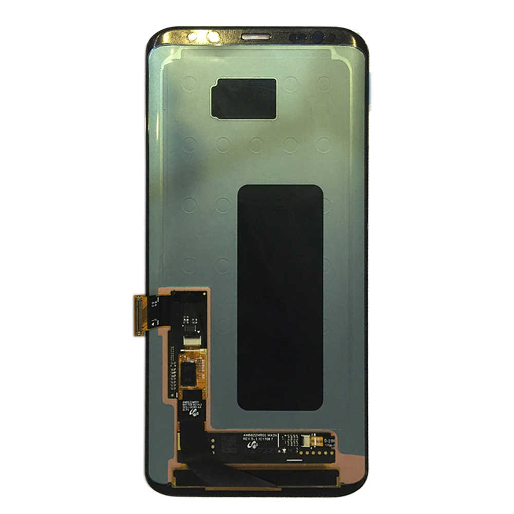 Nuevo LCD AMOLED para Samsung Galaxy S8 Plus G955 LCD pantalla táctil digitalizador montaje 100% probado para Samsung S8 plus