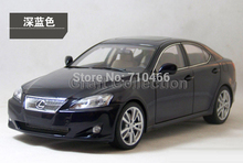 Deep Blue 1/18 LEXUS IS350 2006 AutoArt AA Diecast Model Car Aluminum Die casting Products Craft Collection Brinquedos