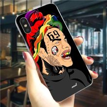 Tekashi69 6ix9ine Tekashi 69 чехол для телефона чехол для iPhone X 5 5S SE 6 6S Plus/6 Plus/6 S Plus 7 8/7 9 Plus XS XR Xs Макс хард оболочки(China)