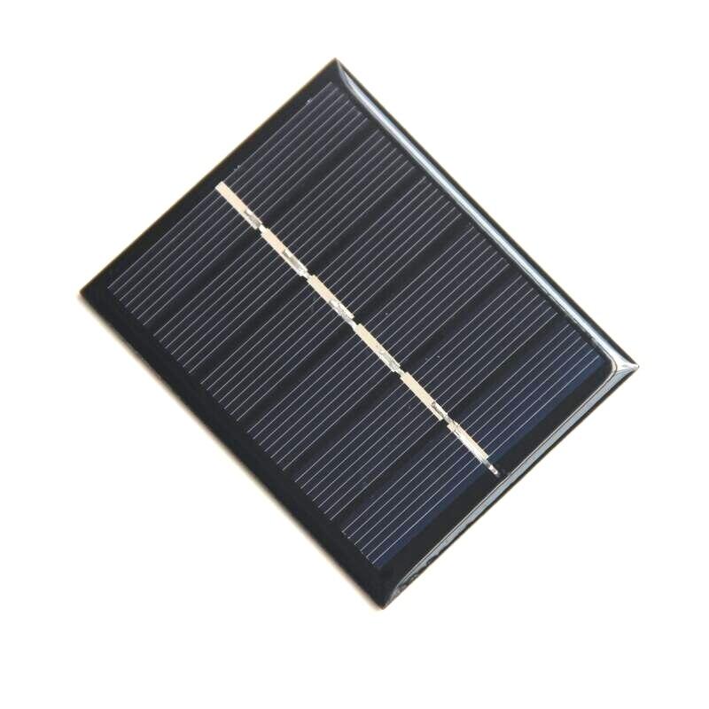 BUHESHUI 0.6W 3V Mini Solar Panel Polycrystalline Solar Cell DIY Solar Toys/System Education Kits 60*75MM Free Shipping