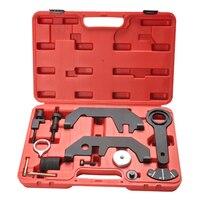 12Pcs For BMW N62 N73 Engine Alignment Camshaft Crankshaft Timing Tool Kit For 745i 545i 645i 750i Car Diagnostic Tool