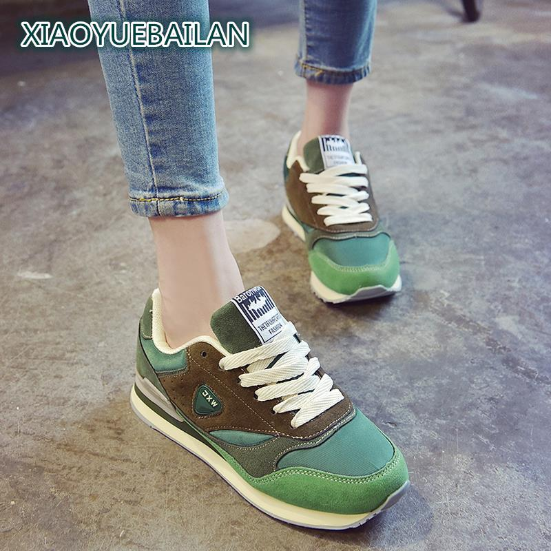 2018 New Female Students All-match Light And Breathable Casual Shoes Comfortable Fashion Breathable Shoes