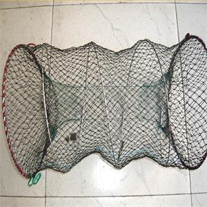 Size 30x50cm Large Folded Fish Pot Mesh Folding Fishing Trap Cast Cage Shrimp Crab Eel Net AutoExpand