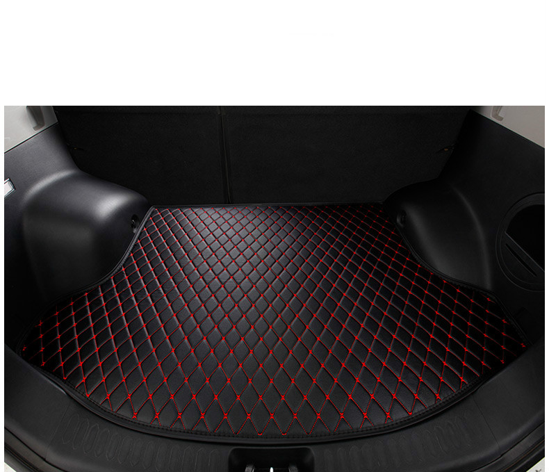 Custom special car trunk mats for Nissan Patrol Pathfinder NV200 sylphy qashqai Tiida jUKE waterproof durable cargo rugs carpets