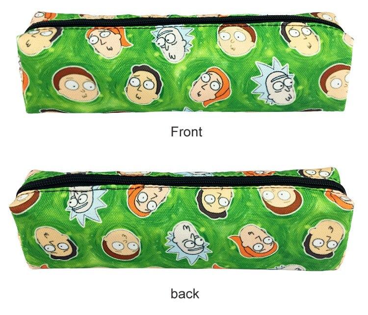 Горячее предложение Рик и Морти кошелек прекрасный мультфильм Рик и Моти канцелярские карандашом мешок для студентов холст долго бумажник