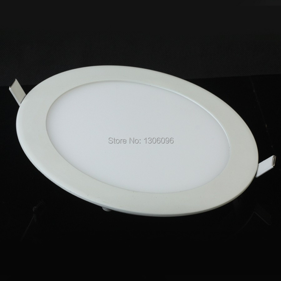 dimmable Ultra thin led down light 3w 6w 9w10w12w 15w 18w led ceiling led lamp led downlight round panel light free shipping in LED Downlights from Lights Lighting