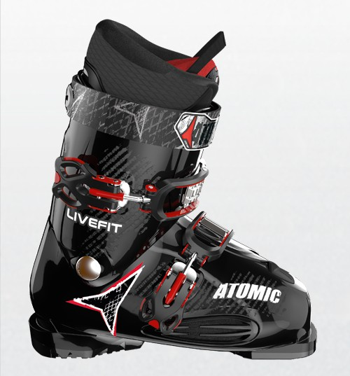 Harbin Wang \ Drilling Three New ATOMIC LF PLUS \2014 Reputation Man Comfortable Skiing Shoes