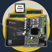 Marka yeni X58 anakart HUANANZHI indirim X58 Pro LGA1366 anakart CPU Intel Xeon X5690 RAM (2*16 g) 32G DDR3 REG ECC