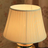 E27 fabric lampshade lamp cover for ceramic table lamps