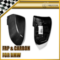 New 2PCS Mirror Cover Replacement For BMW F20 F22 F23 F30 F35 F31 F32 E84 Real Carbon Fiber Car Accessories Car Styling