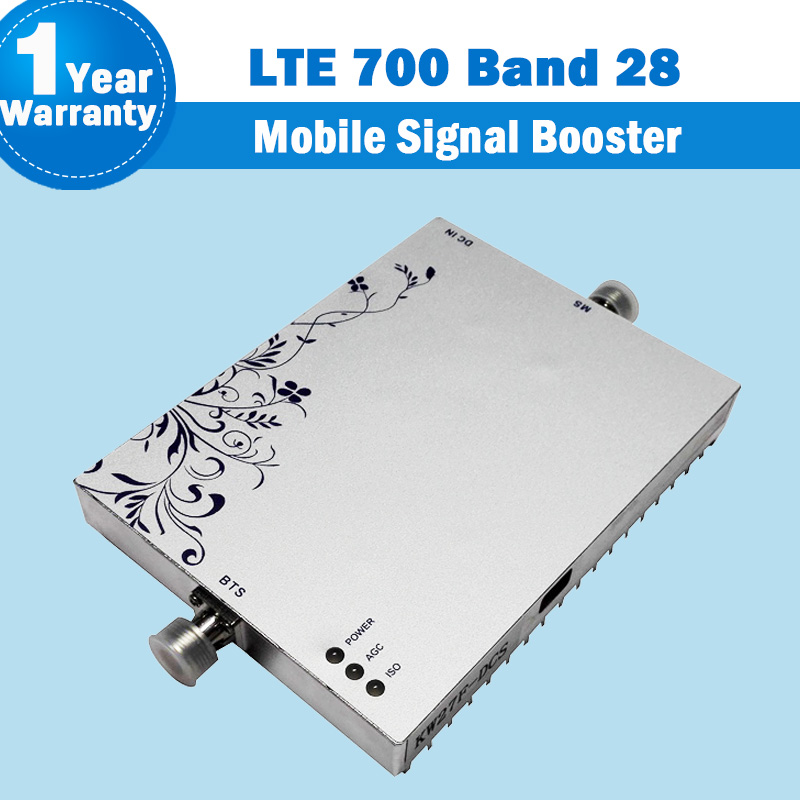 NEW Lintratek 4G Lte 700 Mobile Phone Signal Booster Band 28 Amplifier Repetidor Brazil Celular Sinal LTE Fdd 700MHz ALC/MGC S13
