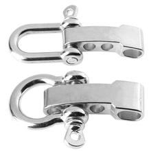 1Pcs Zinc Alloy Metal Buckle Shackle for Paracord Bracelet O