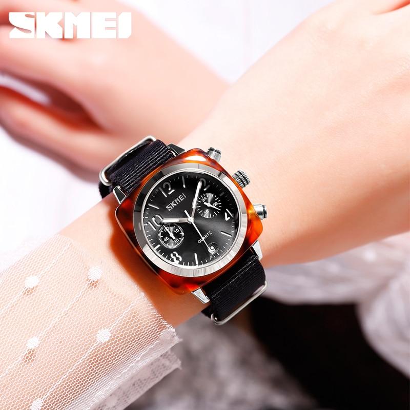 SKMEI Fashion Women Watches Top Brand Luxury Quartz Women's Watches Ladies Waterproof Sport Watch Clock Relogio Feminino 9186