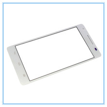 5pcs/lot Grad A quality Outer LCD Screen Lens Top Front Glass for Huawei Honor 3 White black With Logo Free Shipping