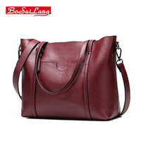 Guaranteed 100 Natural Genuine Leather Women Handbag First Layer Of Cowhide Tote Fashion Women Messenger Bags